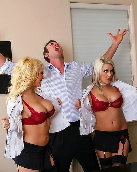 Секс в офисе с двумя красивыми девушками ||  Фото секс в офисе бесплатно