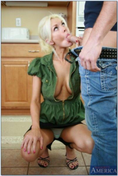 Упитанную блондинку подвергли бдсм истязательствам